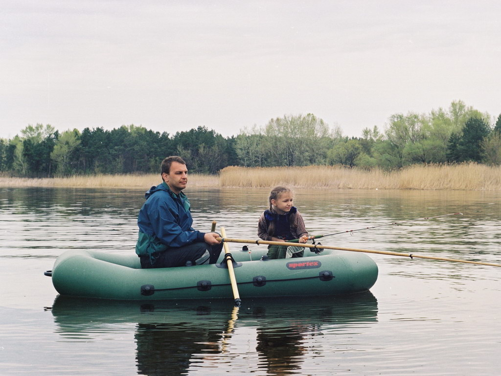 Inflatable boat. Sale. The price from the manufacturer.